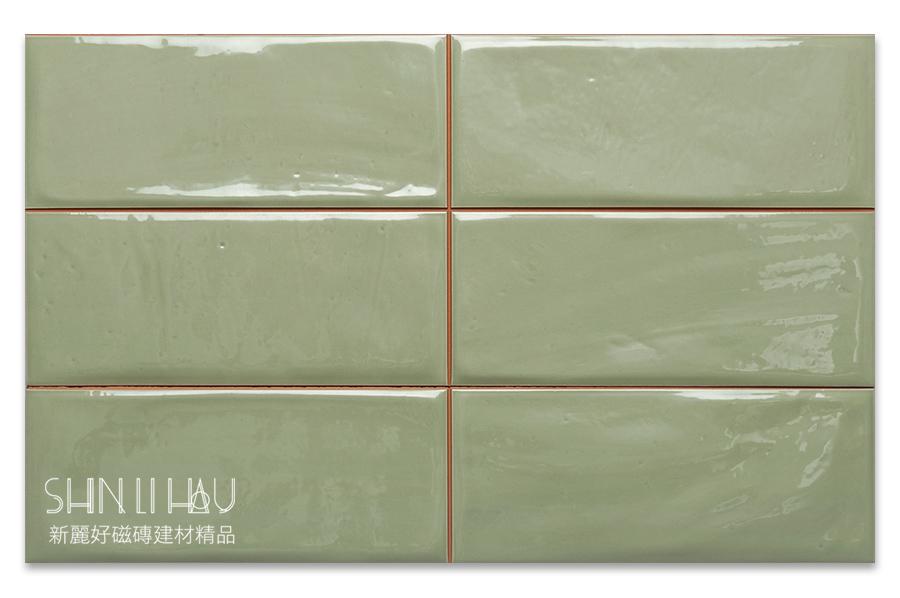 福斯來鄉村風壁磚【每坪3200元】 - 翠欖綠