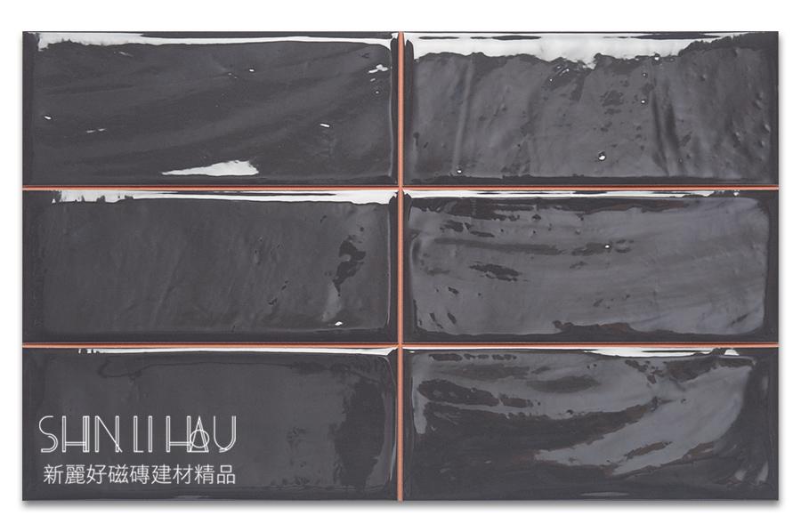 福斯來鄉村風壁磚【每坪3200元】 - 泥煤黑