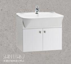 馬桶+面盆+浴櫃+單孔面盆龍頭+淋浴龍頭+光邊除霧浴鏡(專案A)