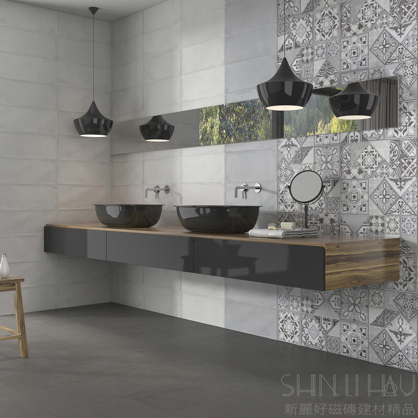 【每坪2880元】西班牙伊薩爾復古磚 - 米白色