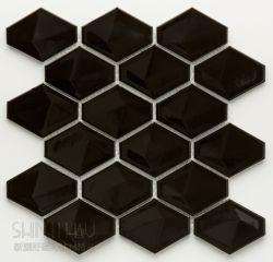 立體菱形 黑