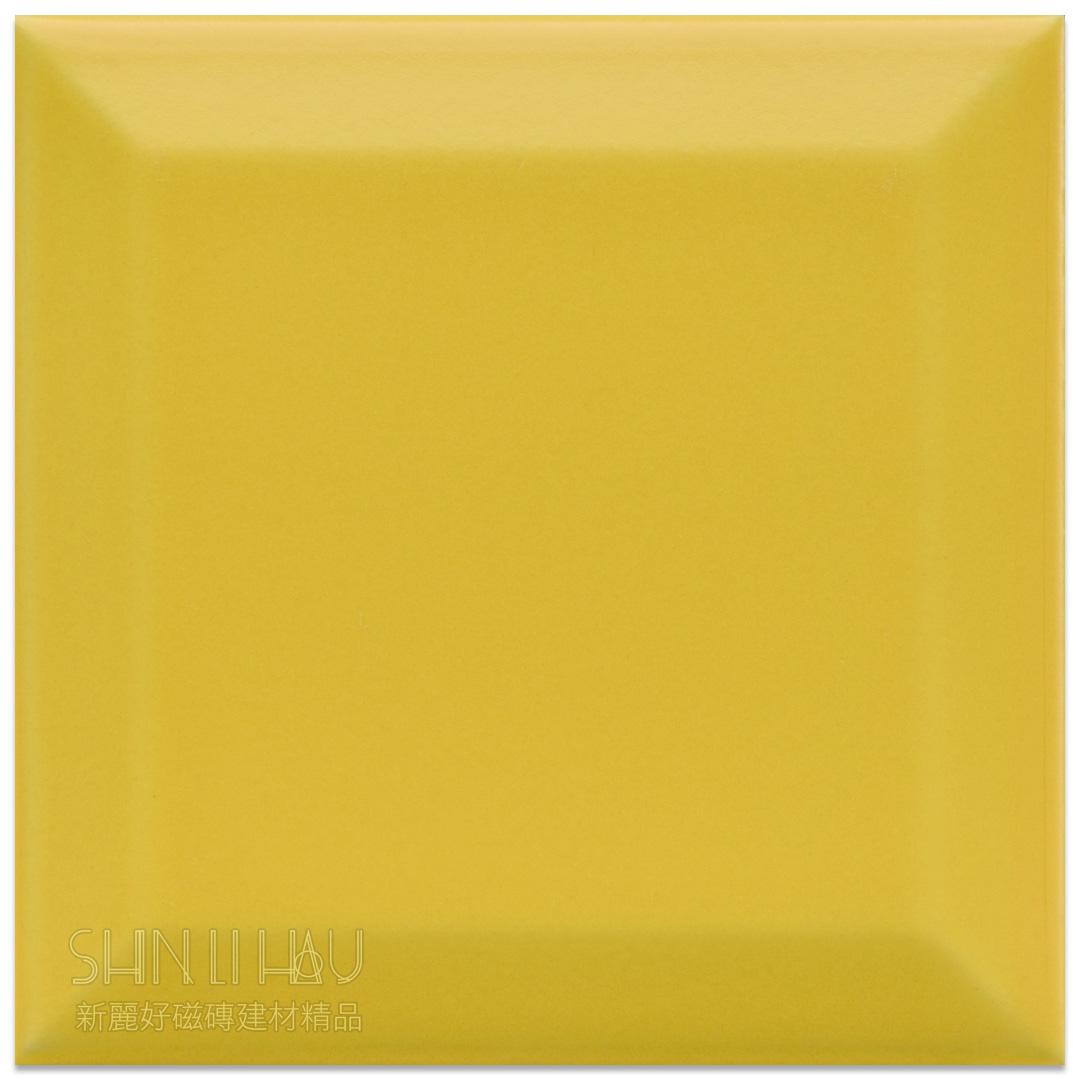 霧面原萃地鐵磚10×10 - 霧翠黃