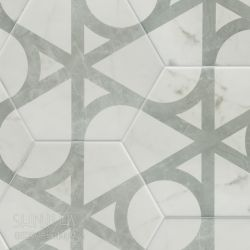 卡拉拉抽象花磚