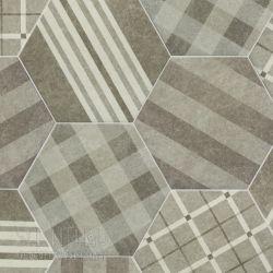 格紋灰花磚