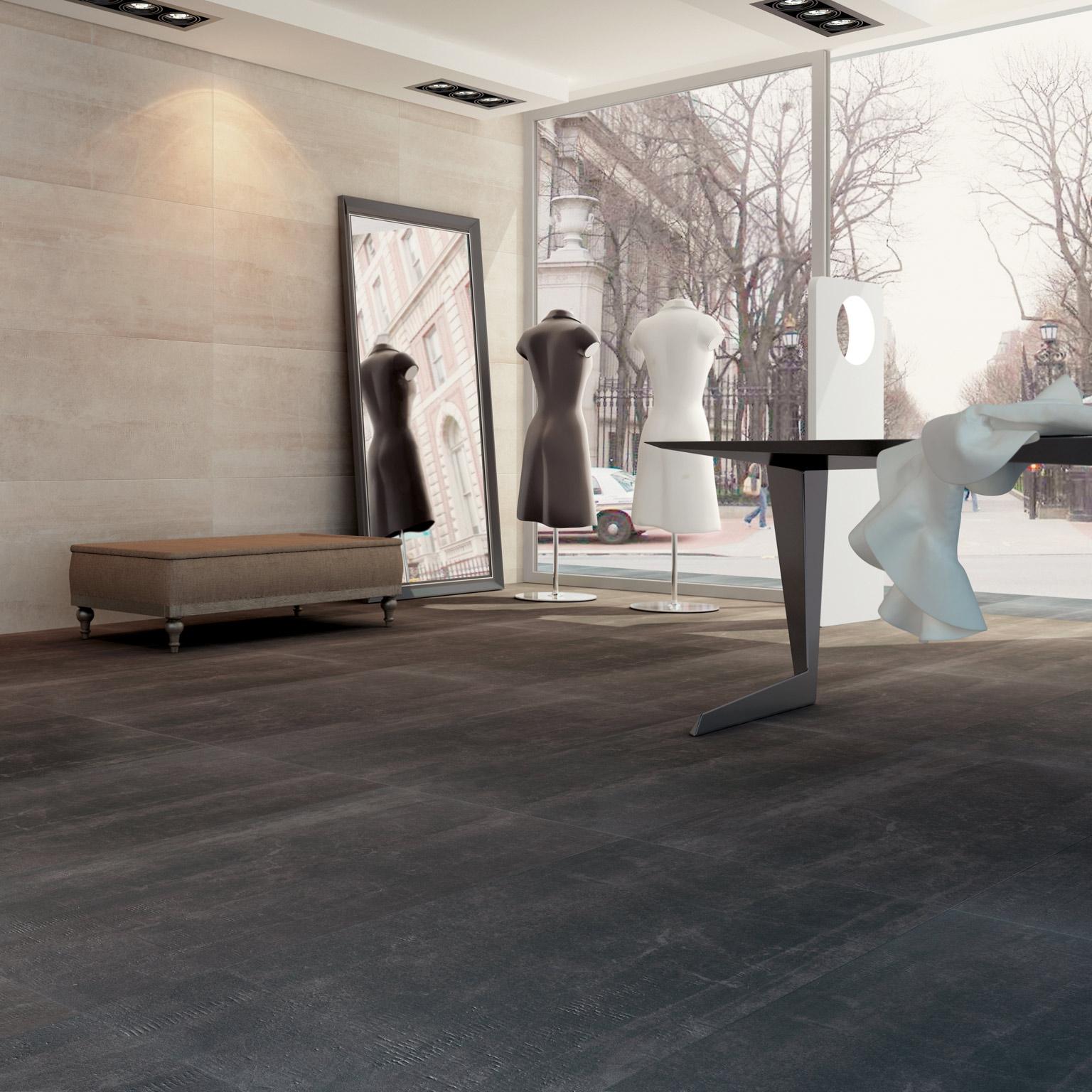 境亞-大尺寸石板磚【灰色下殺特賣!每坪4500元】 - 黑色