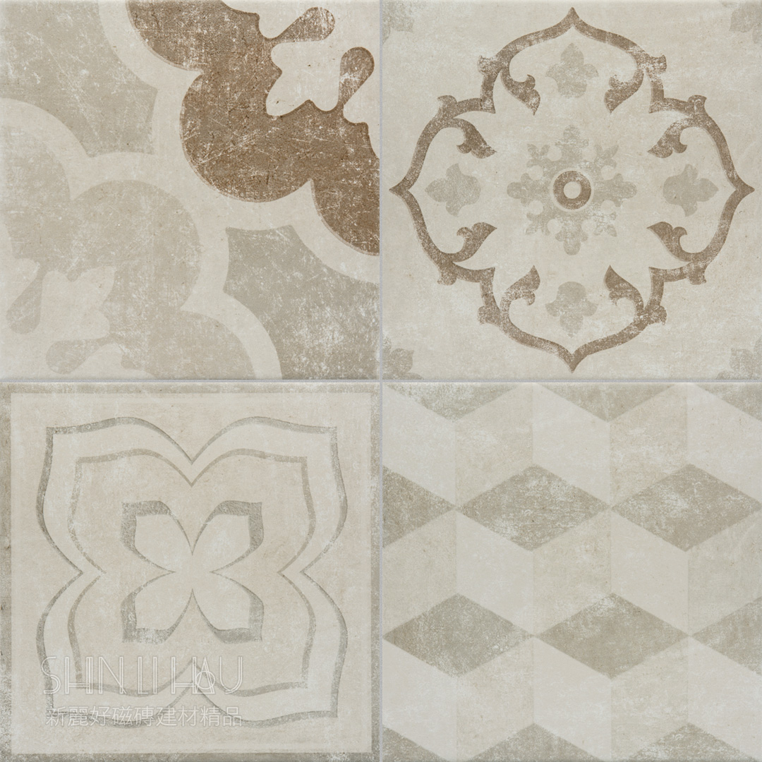 多摩復古磚 【台中館限定版】 - 米花(32種花紋)