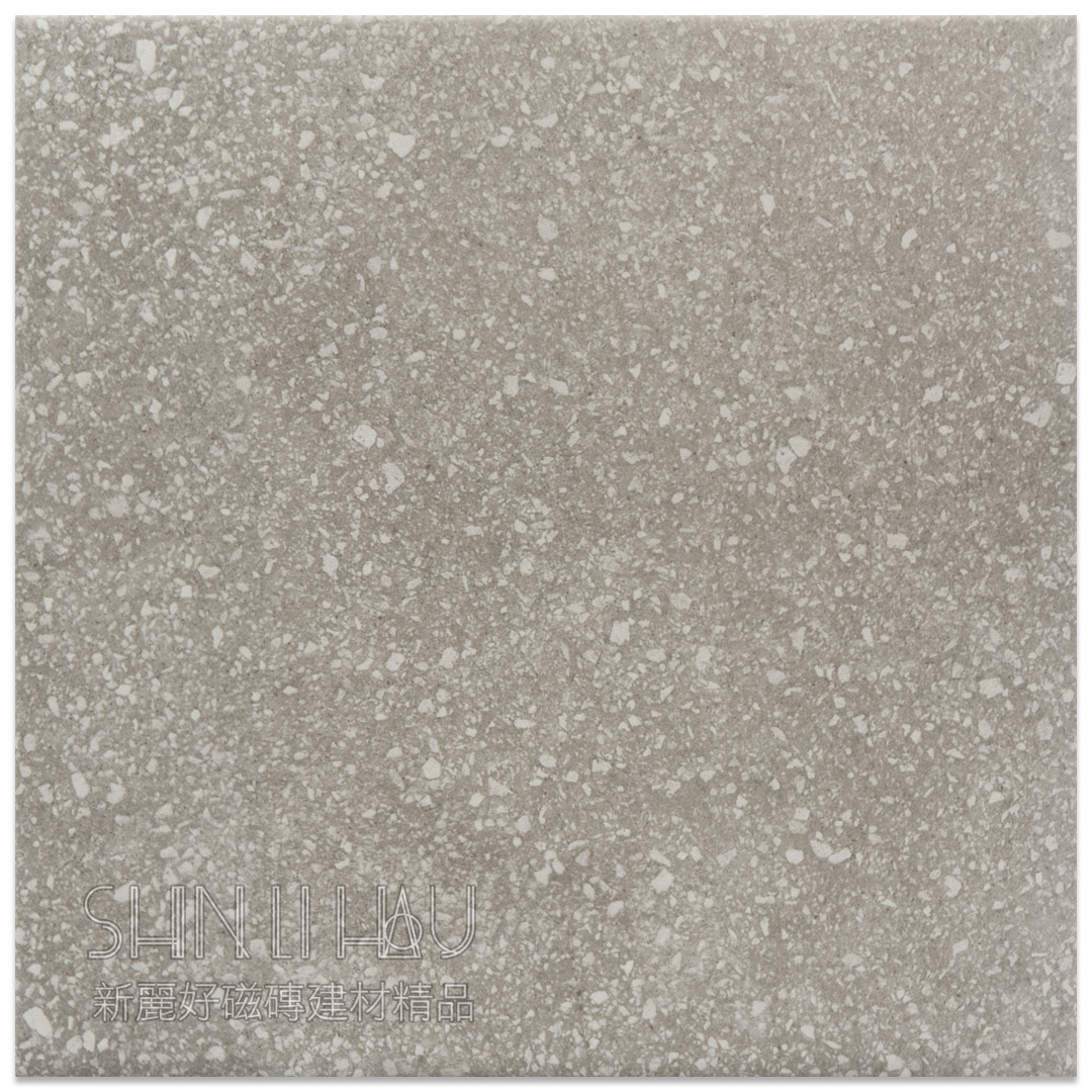 微欣 磨石子磁磚 - 灰色