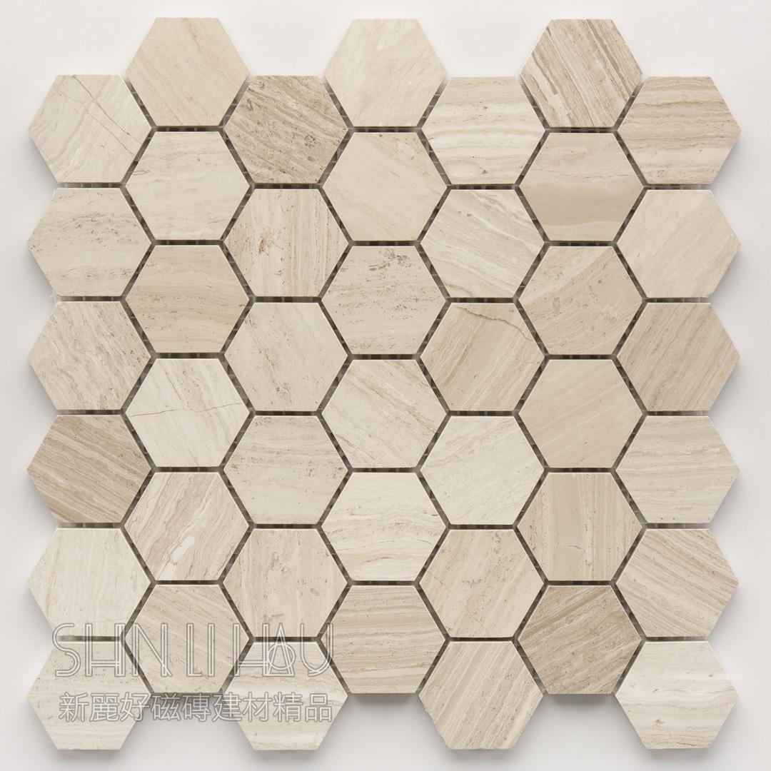 石材六角-岩寓 - 沙色