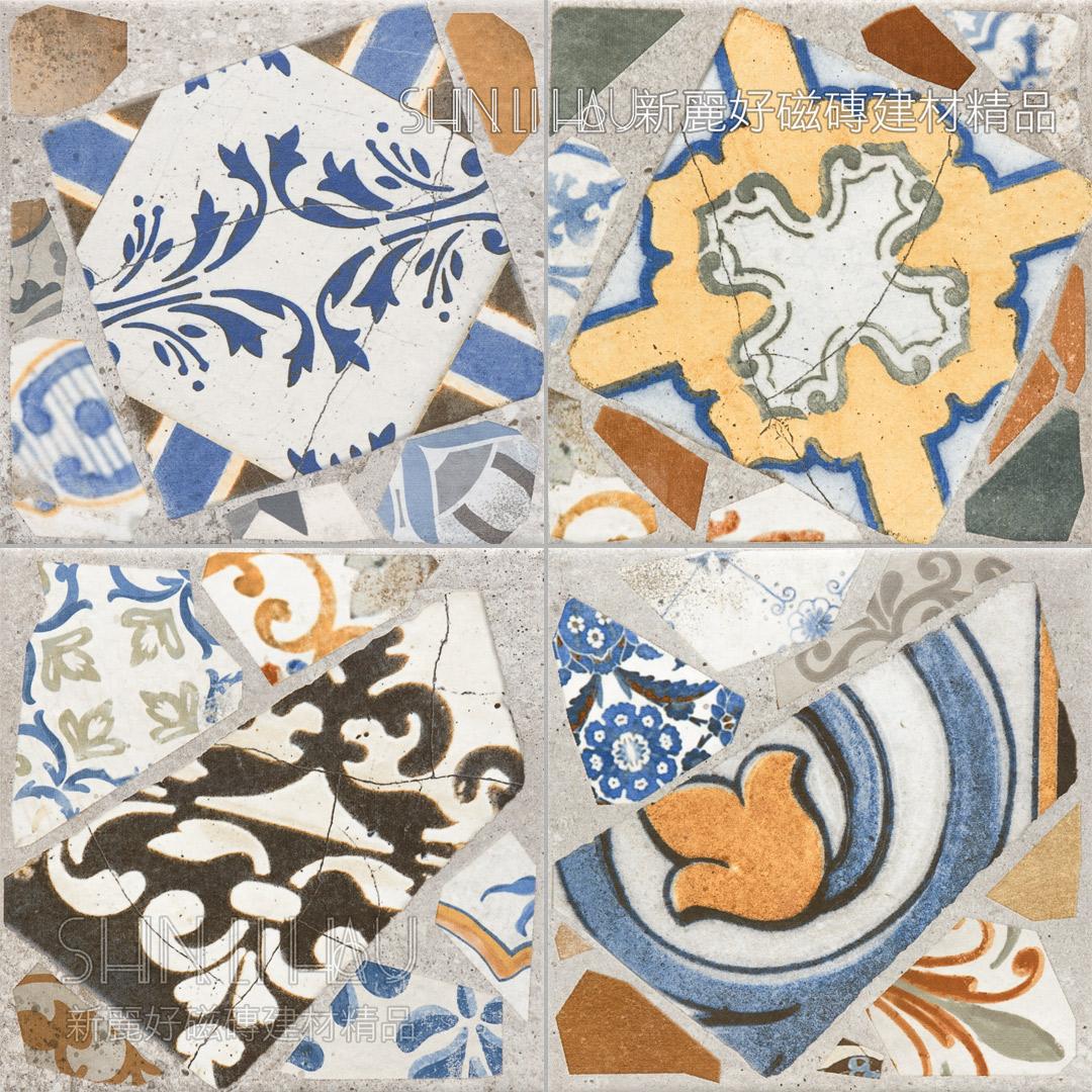 法蘭泥 - 青瓷花磚