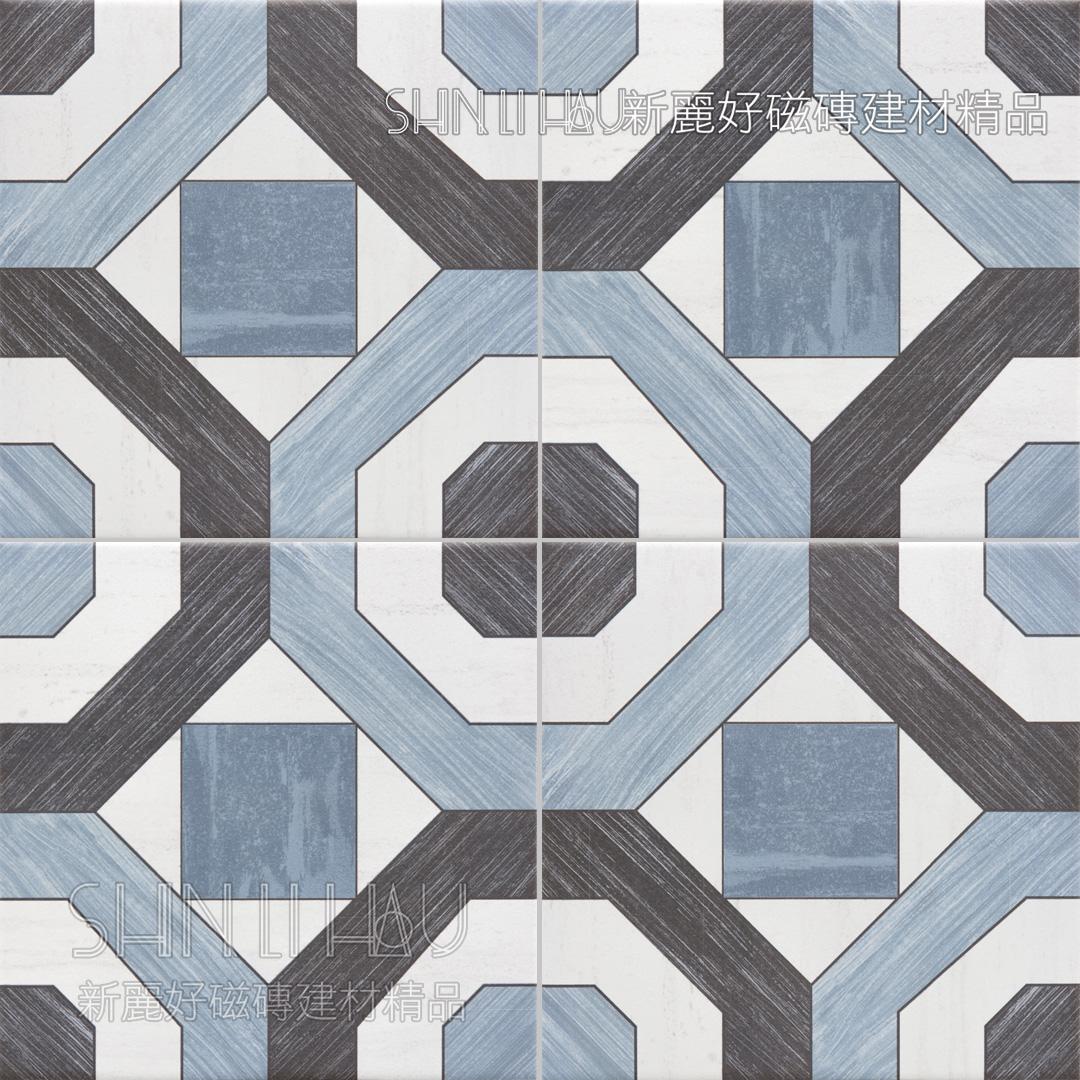 藍韻 - 藍韻-藍黑花磚