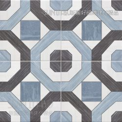 藍韻-藍黑花磚