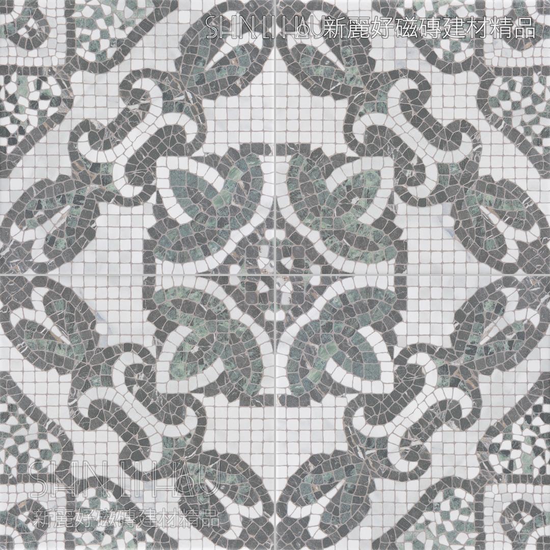 恆緒 - 蛇紋綠馬賽克B