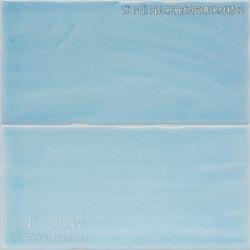 天空藍花磚