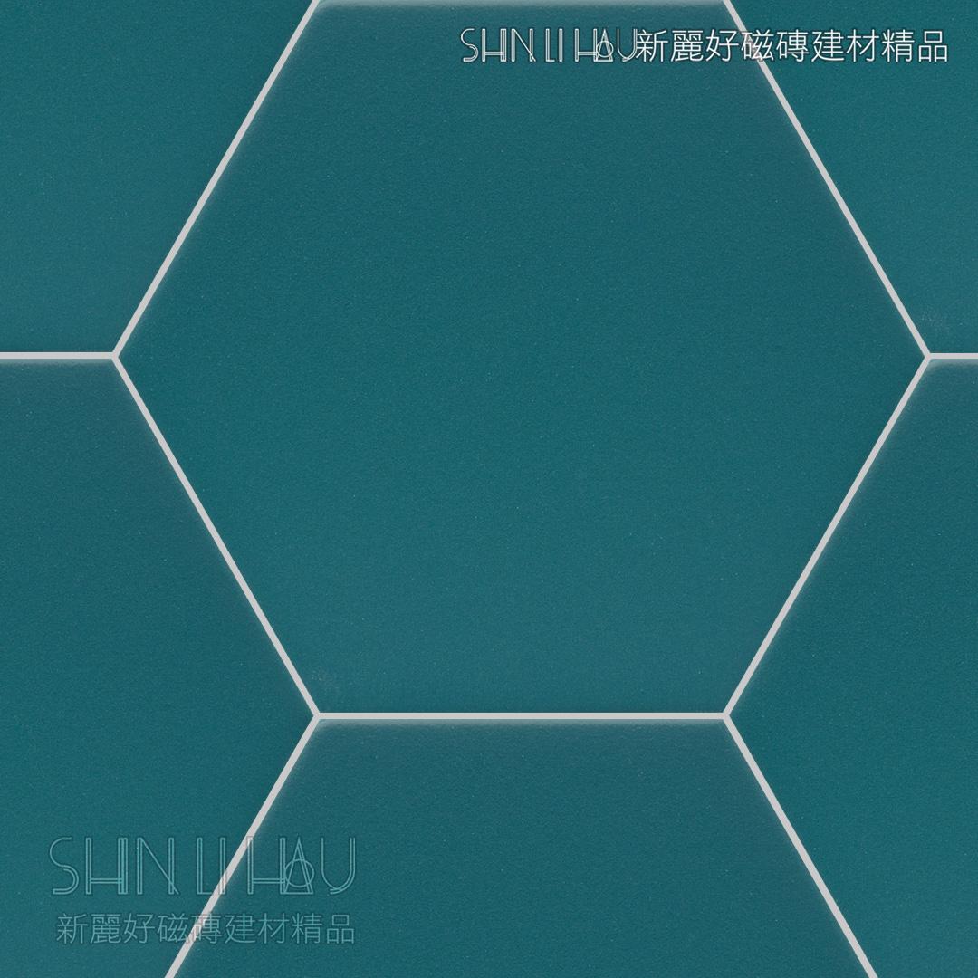光芬六角 - 藍色